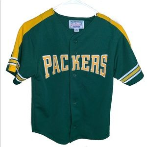Vintage starter Green Bay packers baseball top